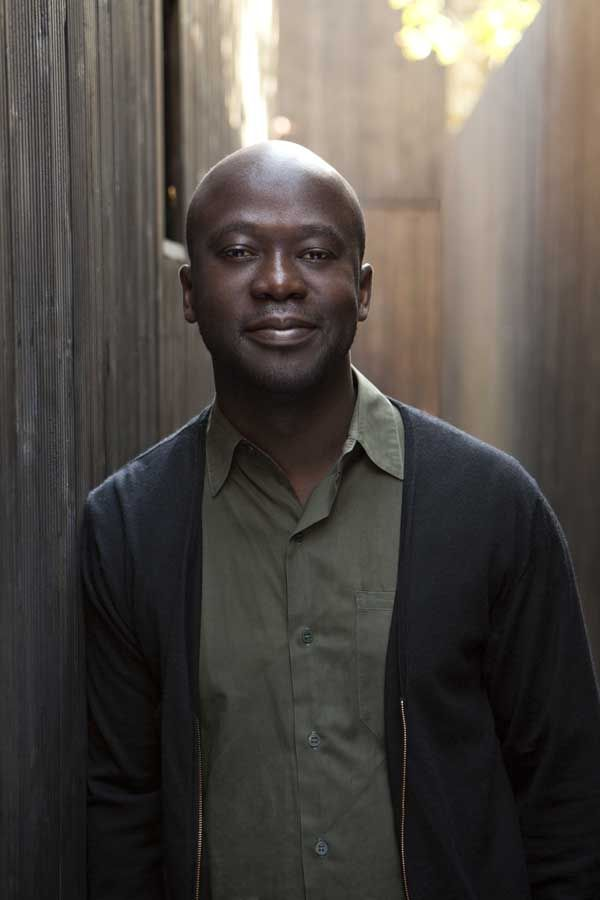 David Adjaye - A contemporary architect, who stands out.  It's 'high design'.