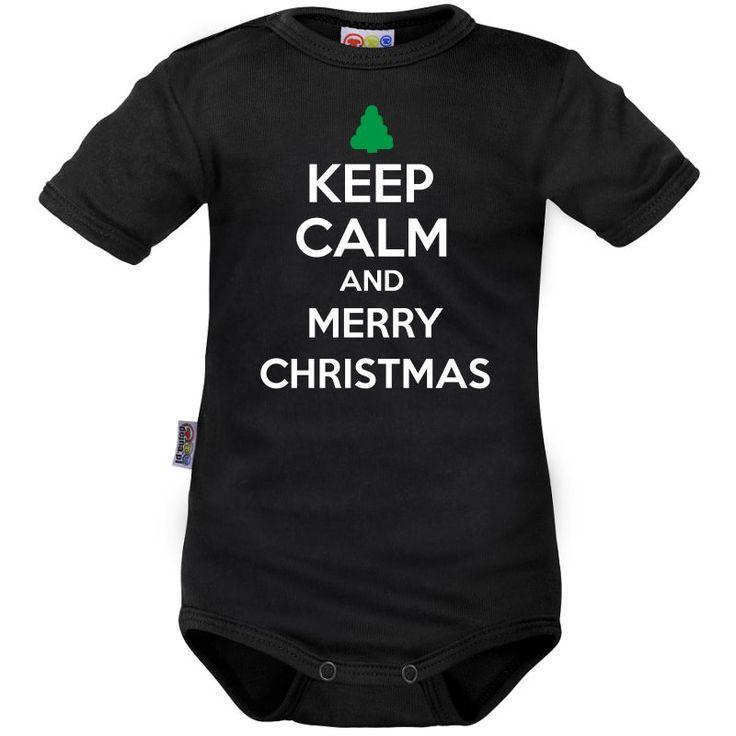 Body bébé Noël : Keep Calm and MERRY CHIRSTMAS