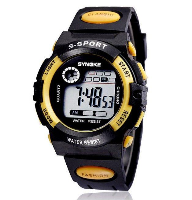 Męski Zegarek LED sportowy silikonowy DLA CHŁOPAKA sport