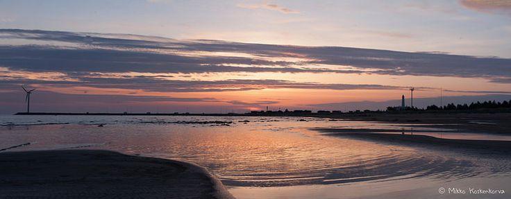 Sunset in Hailuoto