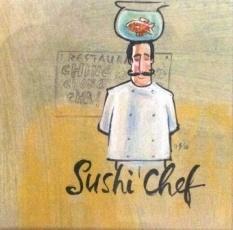 Frans Groenewald  Sushi Chef  Alice Art Gallery