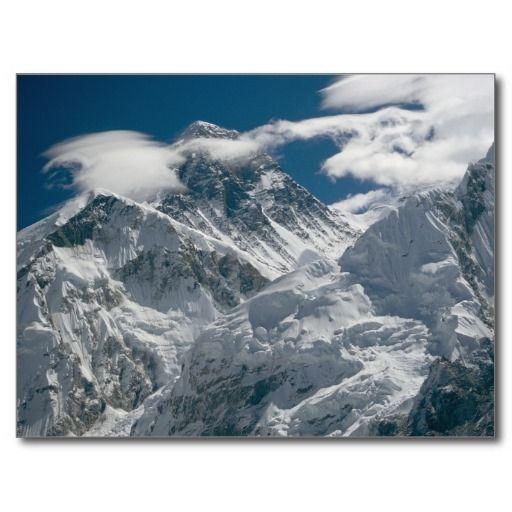 Mount Everest, Nepal. 3 Post Cards