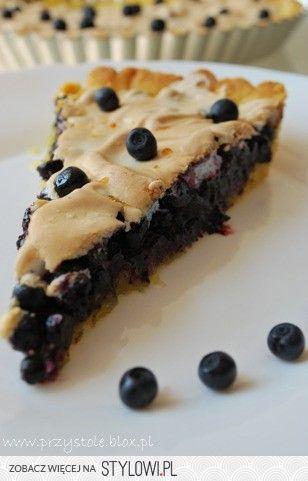 Ciasto jagodowe Składniki na ciasto: - 3/4 szklanki mąk… na Stylowi.pl
