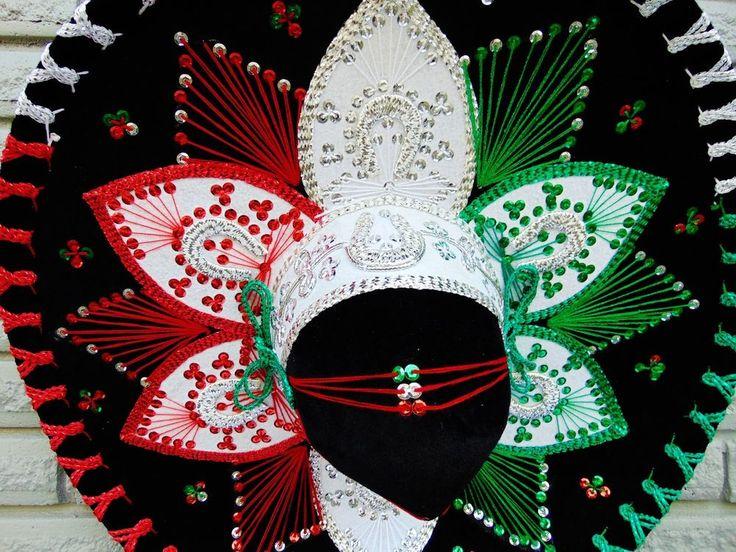 Mexican Hat Adult Sombrero Mariachi Charro Costume Cinco de Mayo New #Belri #HatsHeadwear