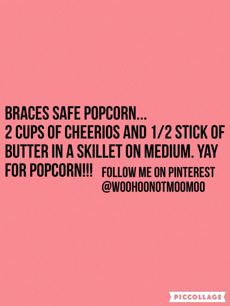 #braces food                                                                                                                                                      More