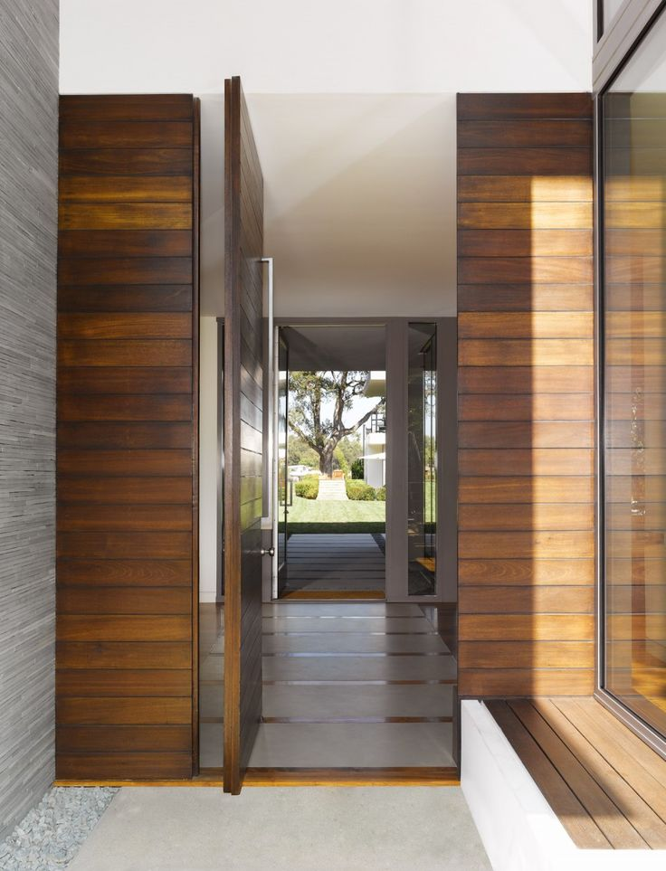 Brentwood Residence Belzberg Architects Hows That For A Front Door