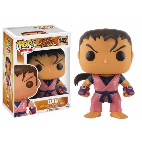 Funko Dan, Street Fighter, SF, Games, Funkomania