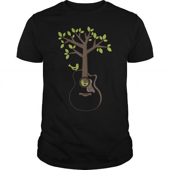 I Love Acoustic Birds T-Shirts