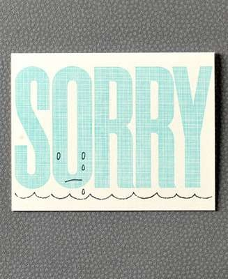 18 best Cards  sorry images on Pinterest Sorry cards, Envelopes - free printable sorry cards