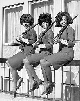 Dianna Ross, Mary Wilson, Florence Ballard The Supremes. 1963.