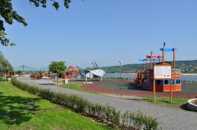 Rewitalizacja Miasta Włocławek- Plac zabaw na Bulwarach