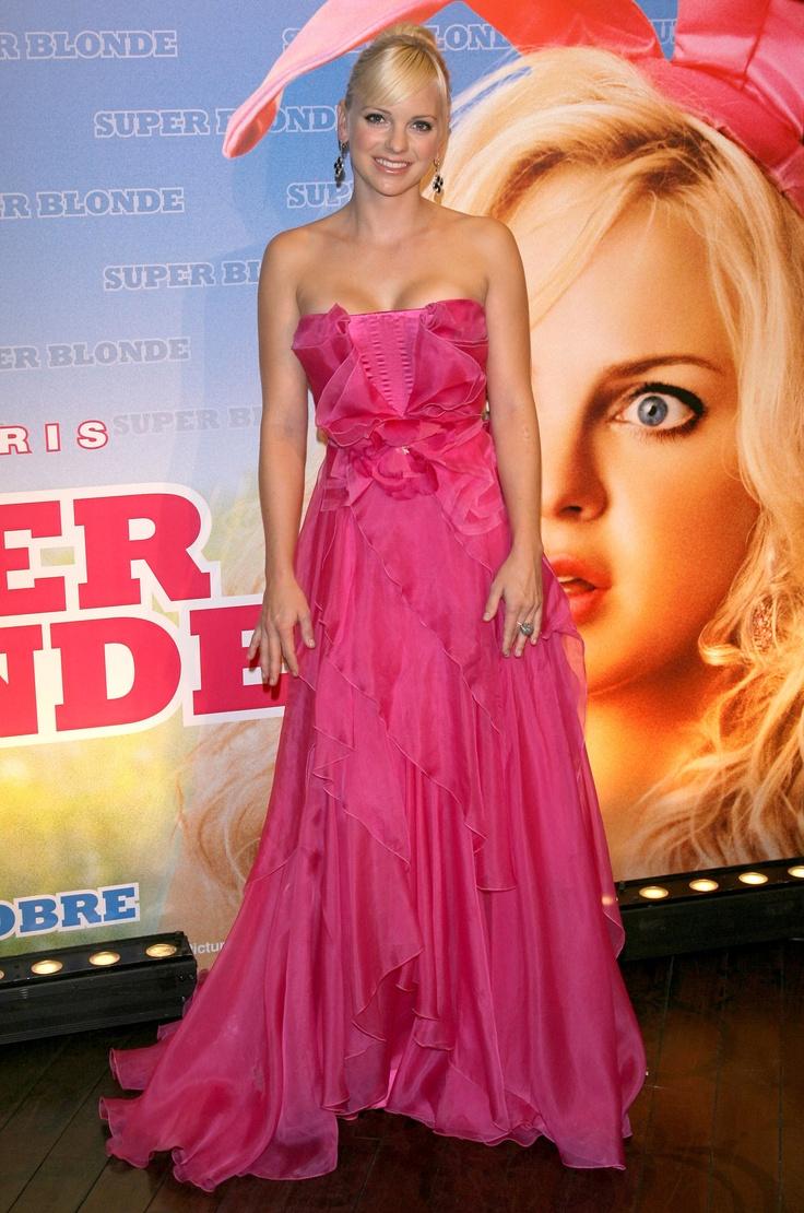 Evening Pink Dress Anna Faris Looks Dresses Evening