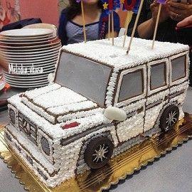 Детский торт Машина нашего времени