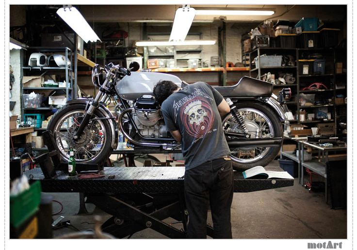 Garage Design Motorcycle : Best images about motorcycles garage on pinterest