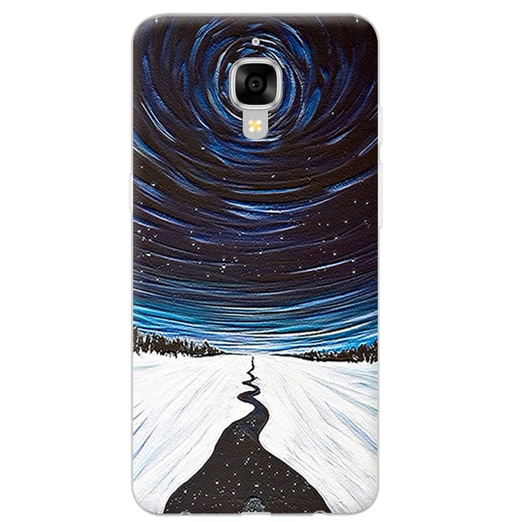 Oneplus Three Phone Case Fashion 3D Relief Painting Hard PC Back Cover for Oneplus 3 1+3 Phone Protector OnePlus 3T Cover