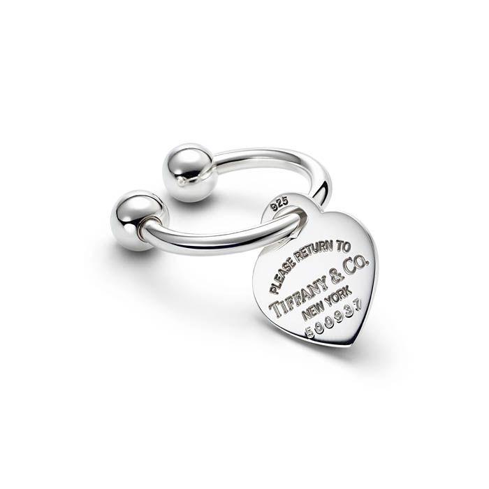Return to Tiffany U-shaped key ring in sterling silver Tiffany & Co. uqb8XIXbH