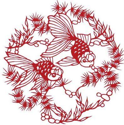Chinese Paper Cutting Folk Art