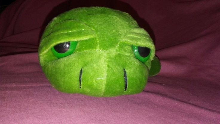 18cm Army Green Big Eyes Turtle Plush Toy Turtle Doll Turtle Kids As Birthday Ch #StrongToyers