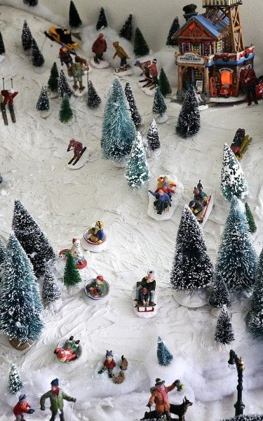 Dan Gustafson Christmas Village