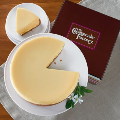 Sometimes good things come in pairs. For instance, we've partnered with The Cheesecake Factory® as their exclusive online vendor. And we're pleased to present the cheesecake that inspired the creation of The Cheesecake Factory®.