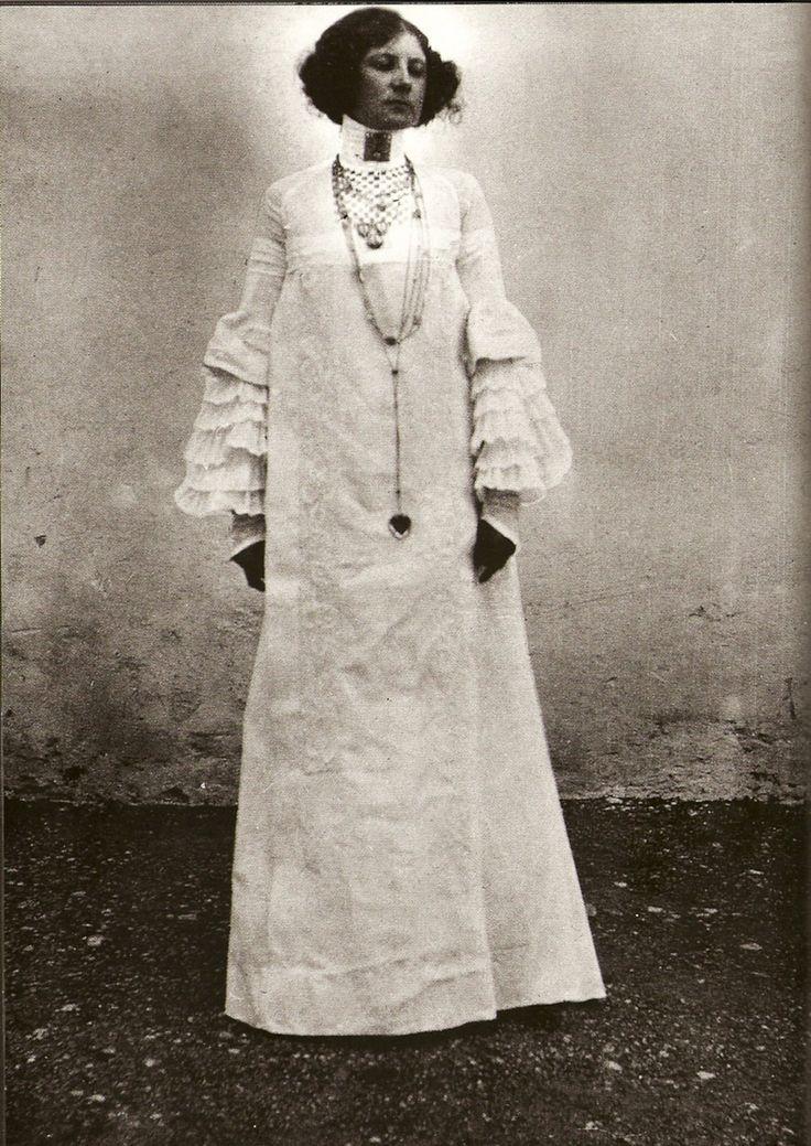 I digress: designs by Emilie Floge, Austrian Secessionist designer and lover of Gustave Klimt
