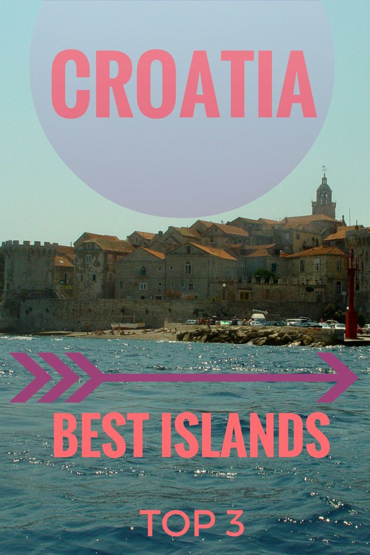 Travel Inspiration: Click to read about the Top 3 islands you should visit in Croatia: http://www.cityseacountry.com/croatias-top-islands-to-visit/ With more than 1000 islands it is hard to decide where to go. We show you the most beautiful islands along the Dalmatian Coast
