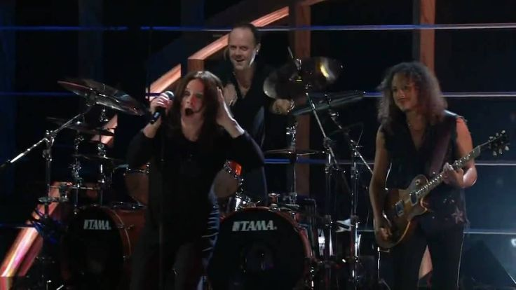 Metallica&Ozzy Osbourne-Iron Man&Paranoid-The 25th.Anniversary Rock And ...