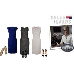 Claire Underwood's Dresses Part One