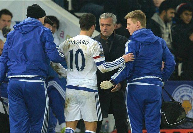 Eden Hazard Cedera dan Ngeyel Minta Diganti