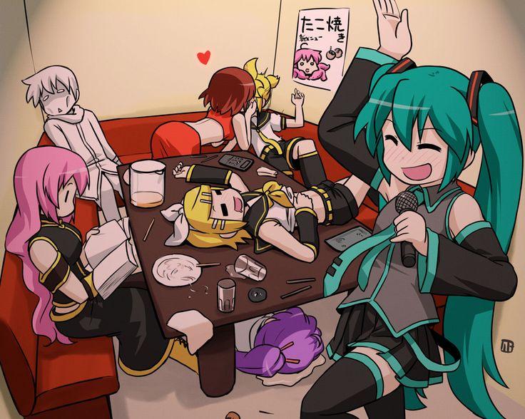 Anime - Vocaloid - Luka - Kaito - Rin & Len - Hatsune Miku ...