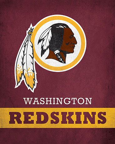 NFL - Washington Redskins Logo $24.99 Exhibit your devotion for the Washington Redskins with this 16x20 Printed Canvas Logo from ScoreArt. This amazing print is perfect for the sports fan in your life.  #Washington #Redskins #WashingtonRedSkins #ScoreArt #Football #Sports #NFL