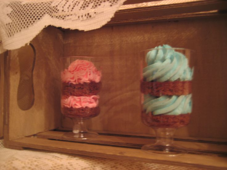 Cupcakes in a glass!!!