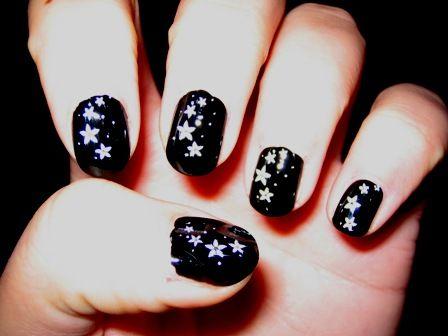 Uñas Estrellas Estrellas Nails Hair Y Hair Beauty