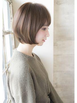 リュドール栄 大人かわいいマッシュボブby畠山 - 24時間いつでもWEB予約OK!ヘアスタイル10万点以上掲載!お気に入りの髪型、人気のヘアスタイルを探すならKirei Style[キレイスタイル]で。