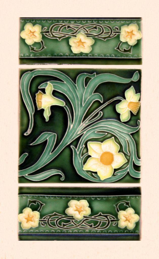 Art Nouveau Style Ceramics