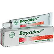Many of our customers use this product from helping severe diaper rash to cleaning their skin.  We sell over 5000 Baycuten's each month.  This is a BRAND medication from Bayer.   Please check it out at: http://www.drugsmx.net/product_info.php/products_id/901