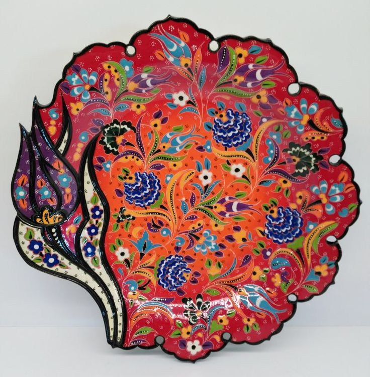 """TURKISH CERAMIC PLATE, 30 cm (11.8"""")"""