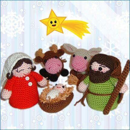 ... about Nativity on Pinterest | Free pattern, Nativity sets and Fimo