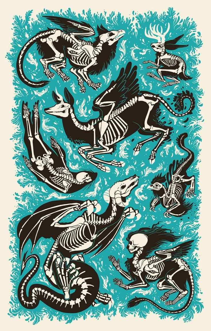 Bone Bestiary by Brittney Sabo