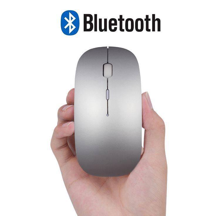 3.0 bluetooth souris pour macbook air pro, soutien pour win10/mac os ordinateur sans fil souris rechargeable muet silencieux intelligent souris