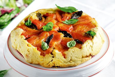 Τάρτα ντομάτας «τατέν» - Συνταγές   γαστρονόμος