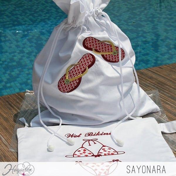 Bolsa Sayonara  Bolsa para llevar cosas a la playa o piscina. ...