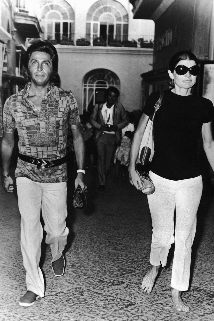 Valentino Garavani and Jacqueline Kennedy Onassis  Muse