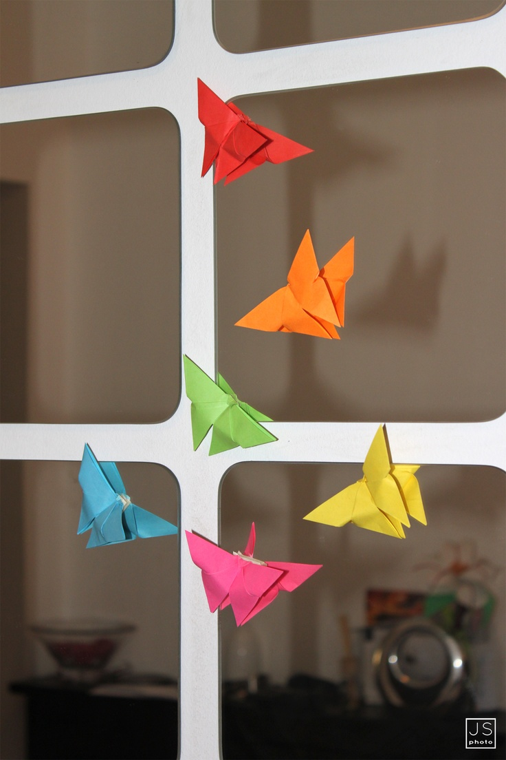 Origami butterfly ...
