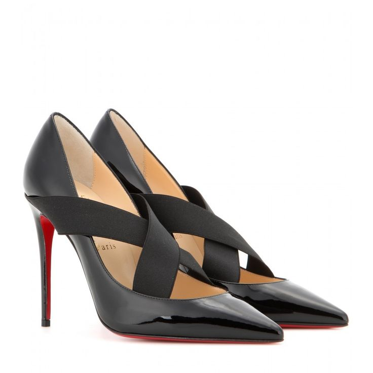 PUMPS SHARPSTAGRAM 100 AUS LACKLEDER CHRISTIAN LOUBOUTIN