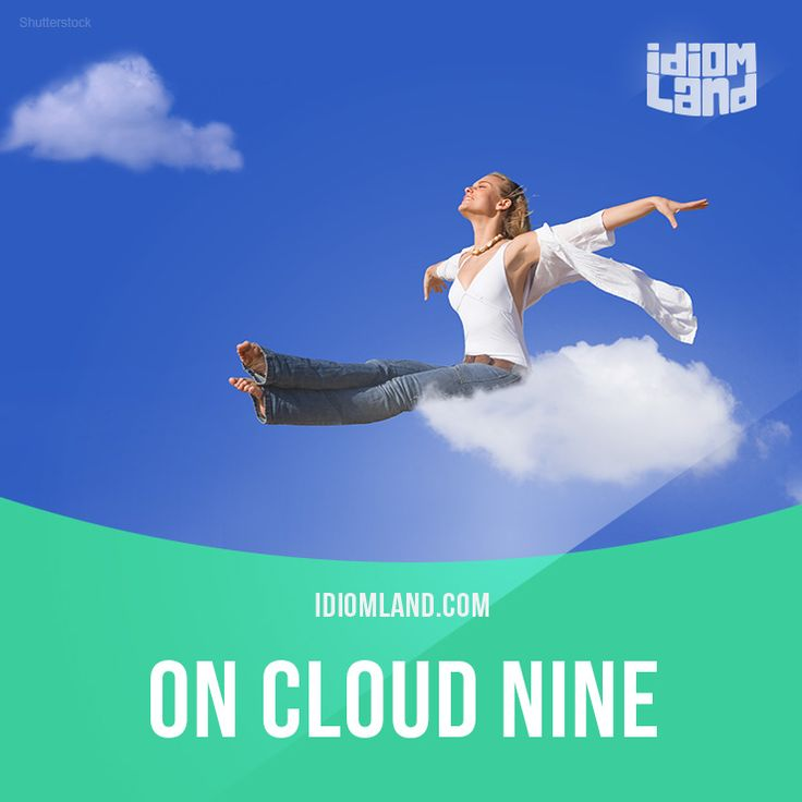 """""""On cloud nine"""" means """"to be extremely happy"""". Example: He was on cloud nine for months after he won the lottery. #idiom #idioms #slang #saying #sayings #phrase #phrases #expression #expressions #english #englishlanguage #learnenglish #studyenglish #language #vocabulary #efl #esl #tesl #tefl #toefl #ielts #toeic #cloudnine"""