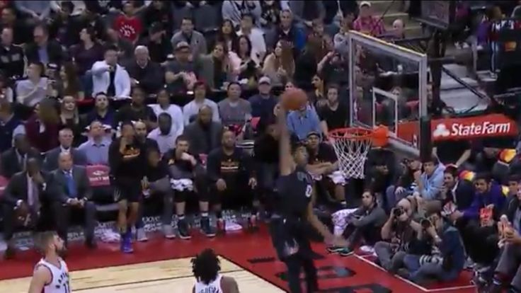 WATCH: Marquese Chriss throws down one-handed alley-oop = If basketball rims have families, then Marquese Chriss has some explaining to do. The Phoenix Suns rookie was on…..