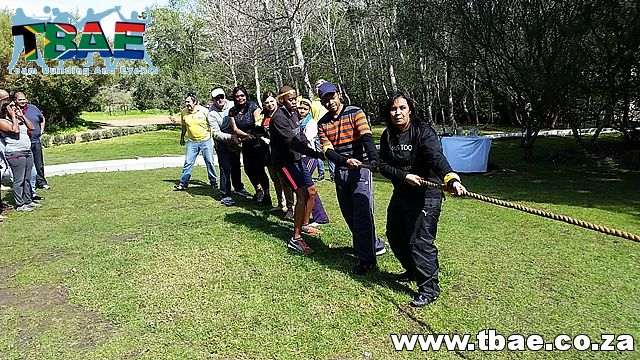 Tug of War #Woolworths #TeamBuilding #CorporateFunDay