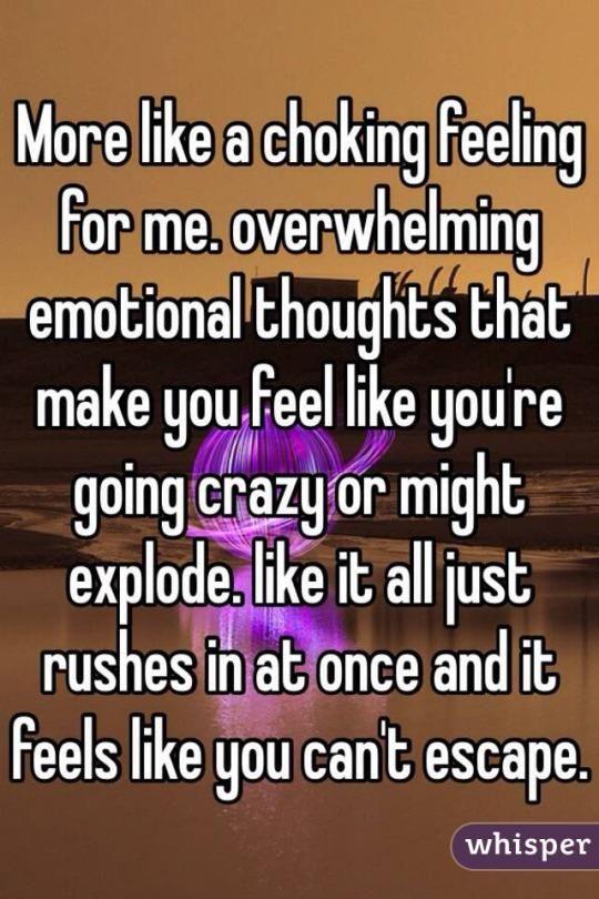 What It Feels Like To Have A Mental Breakdown
