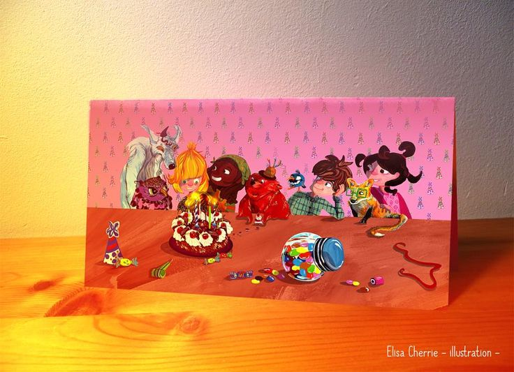 Élisa Cherrie - illustration http://elisacherrieillustration.com/communication.html